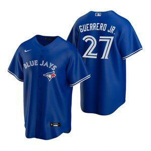 Youth Jays #27 Vladimir Guerrero Jr. Jersey